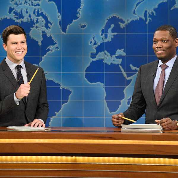 Colin Jost, Michael Che, Weekend Update, Saturday Night Live